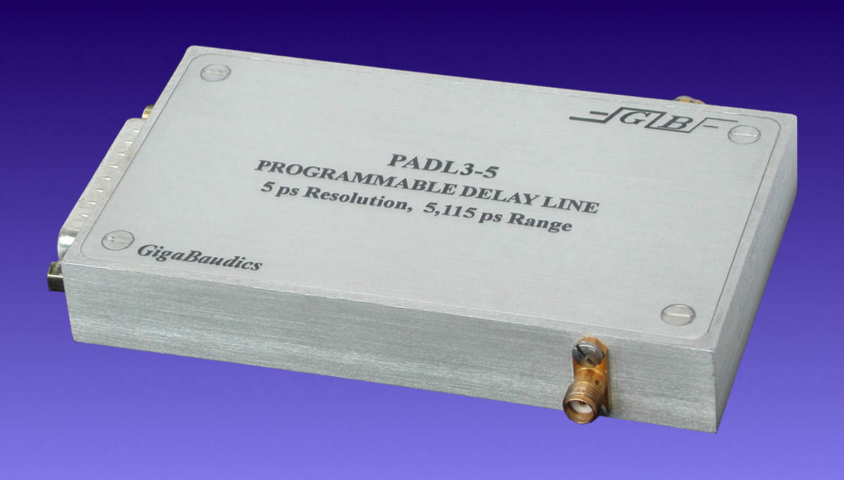 Programmable Delay Line Model Padl3 And Simple Logic Circuit Eliminates Need For Lines In